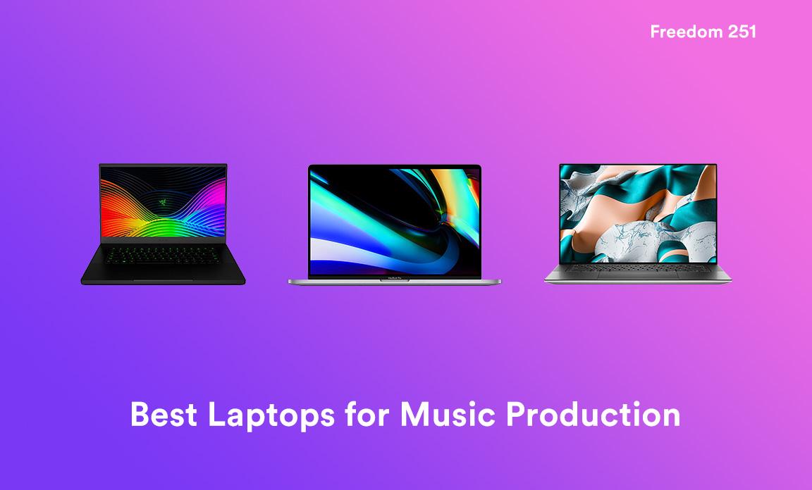 Mejores portátiles para la producción musical