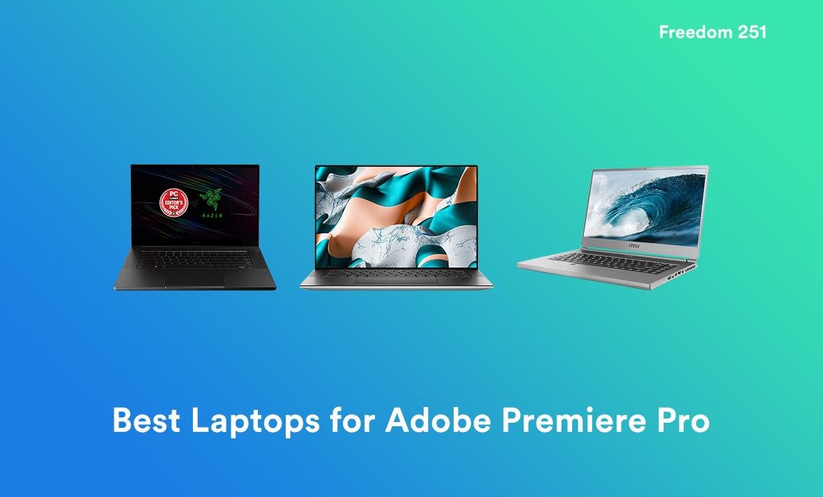 Mejores portátiles para Adobe Premiere Pro