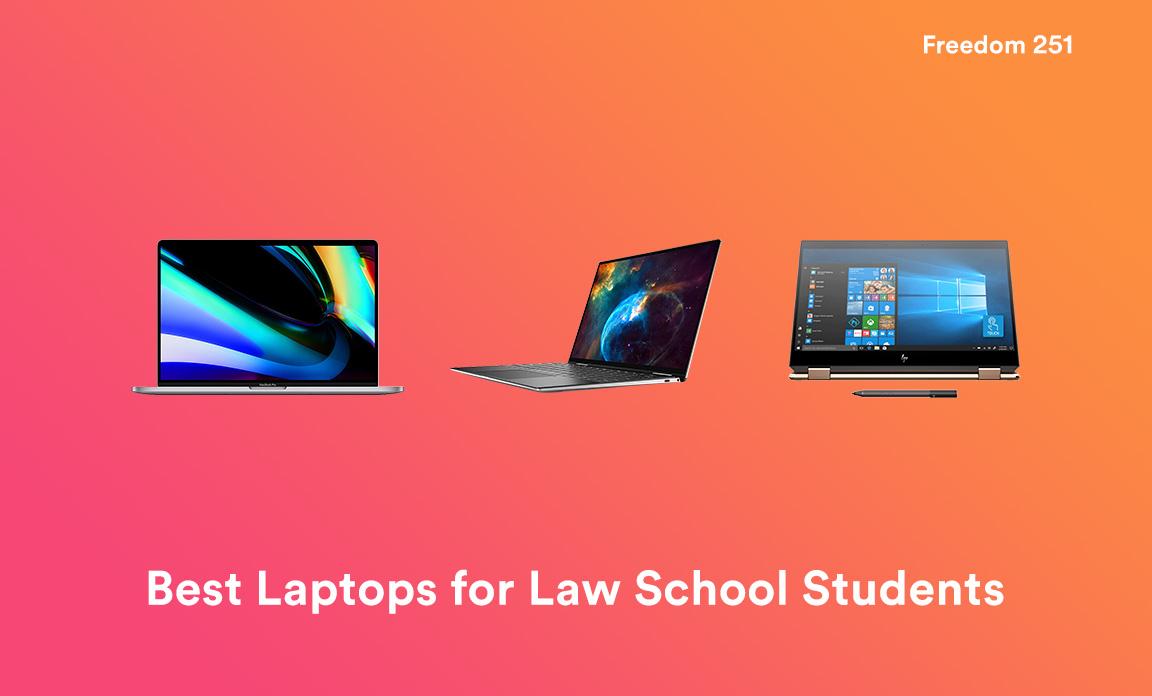 Mejores portátiles para estudiantes de la Facultad de Derecho