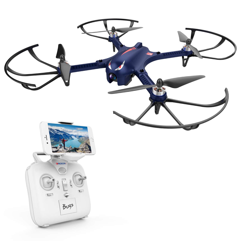 DROCON Bugs 3 Potente Motor sin Escobillas Quadcopter Drone