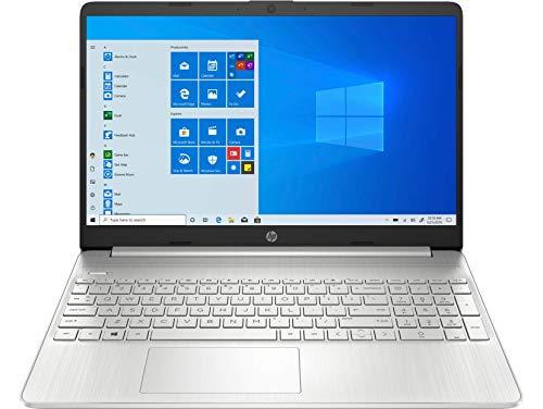 Computadora portátil HP, pantalla táctil de 15,6', AMD Ryzen 5 3500U (Beats i7-7500U), 12 GB DDR4 RAM, 256GB PCIe SSD, 802.11ac WiFi, HDMI, Silver, Windows 10, iPuzzle Mouse Pad