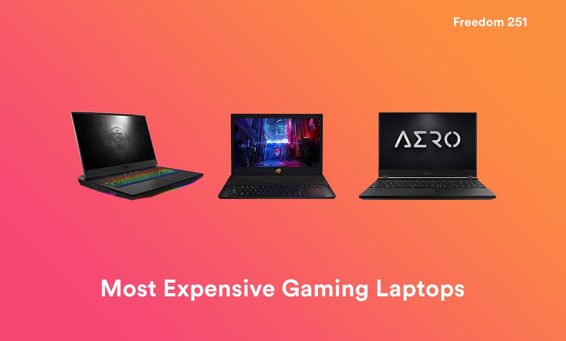 Ordenadores portátiles para juegos más caros