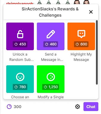 Consulte Progreso de los puntos de canal de Twitch