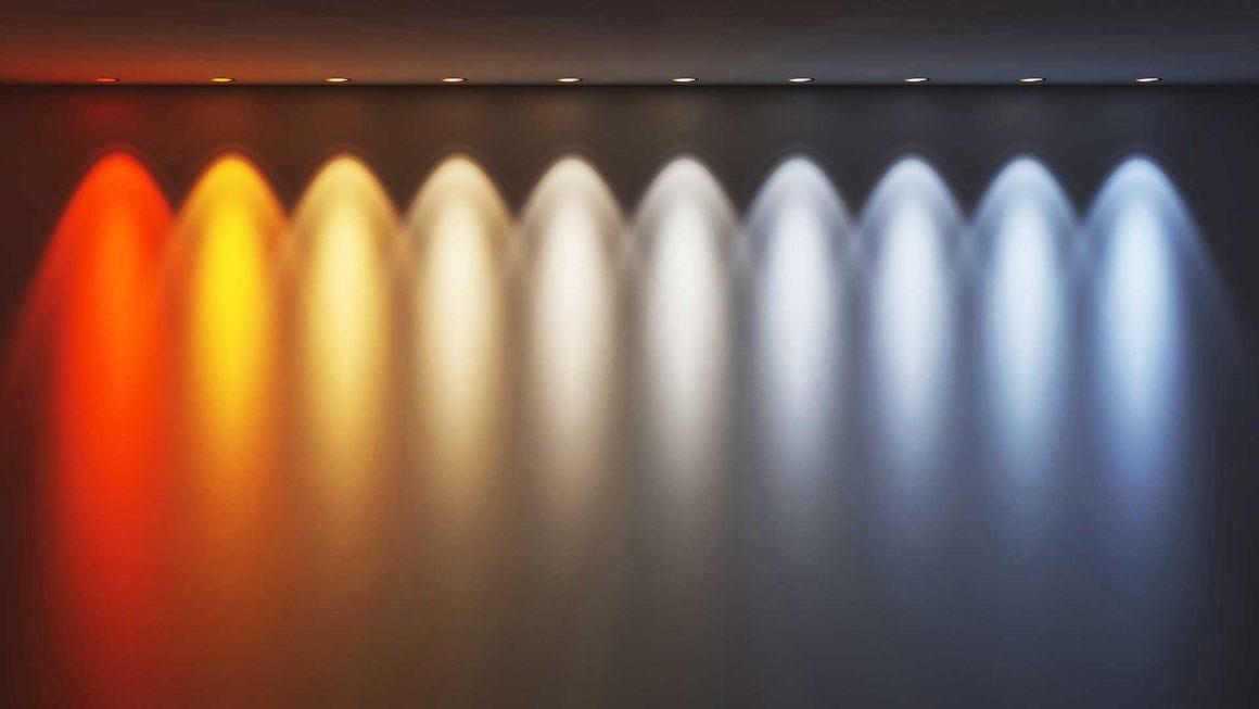 Colores de temperatura Kelvin