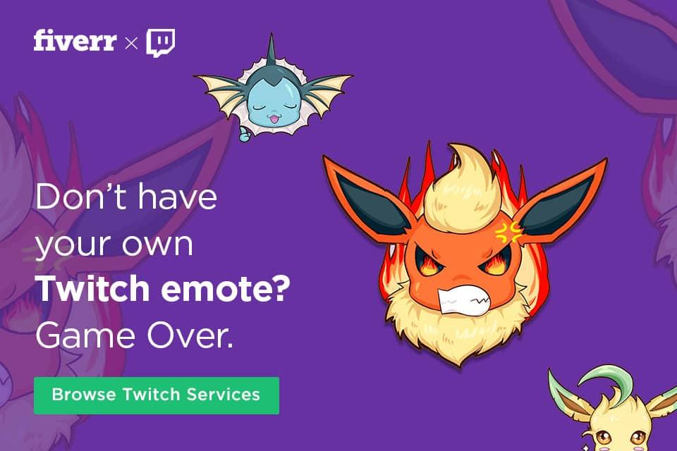 Emotes de Twitch personalizados
